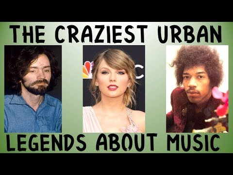 THE CRAZIEST URBAN LEGENDS ABOUT MUSIC