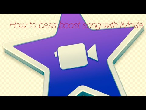 Tutorial on how to bass boost songs with iMovie