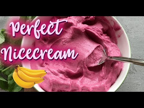 Perfectly Fluffy (Fruit Only!) Nicecream Tutorial
