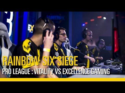 Rainbow Six Siege – Finales de la Pro League - VITALITY vs. EXCELLENCE GAMING