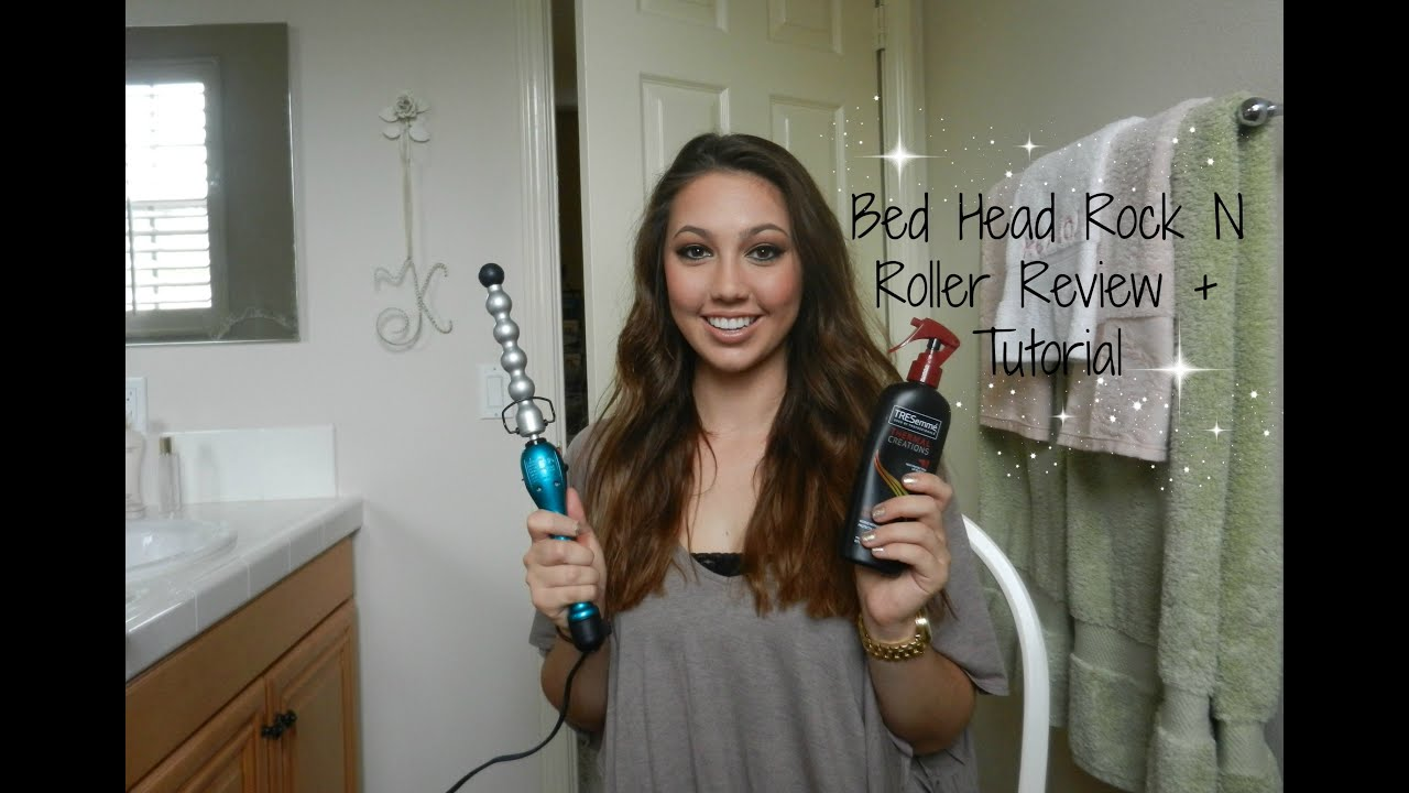 Bed Head Rock N Roller Bubble Curling Iron Wand Review