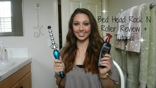 Bed Head Rock N Roller Bubble Curling Iron Wand - Review & Tutorial Thumbnail