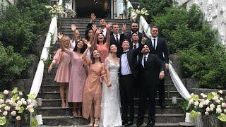 Tiệc cưới trong lâu đài sang trọng của Á hậu HOÀNG OANH và chồng Tây | BÍ MẬT VBIZ