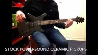 Power sound pickups vs Gfs fat pat Alnico v