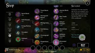 Vainglory Guide Series: Item builds and captain items part 1