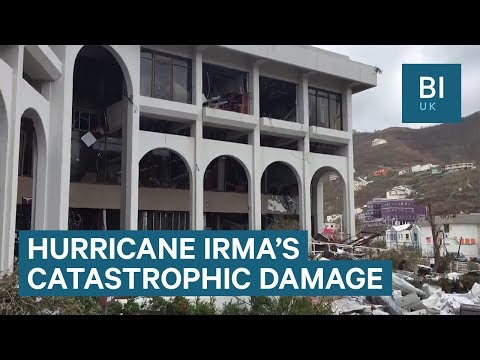 Watch as Hurricane Irma rips through a house on the British Virgin Islands