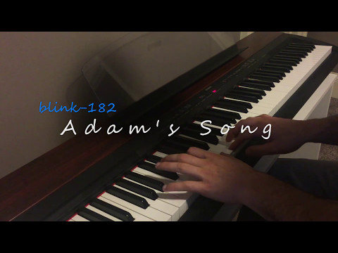 Adams Song blink182 piano