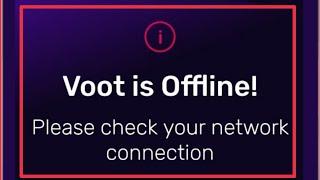 Voot Tv App Fix Voot is Offline Please check your network connection & Not Working problem solve screenshot 3