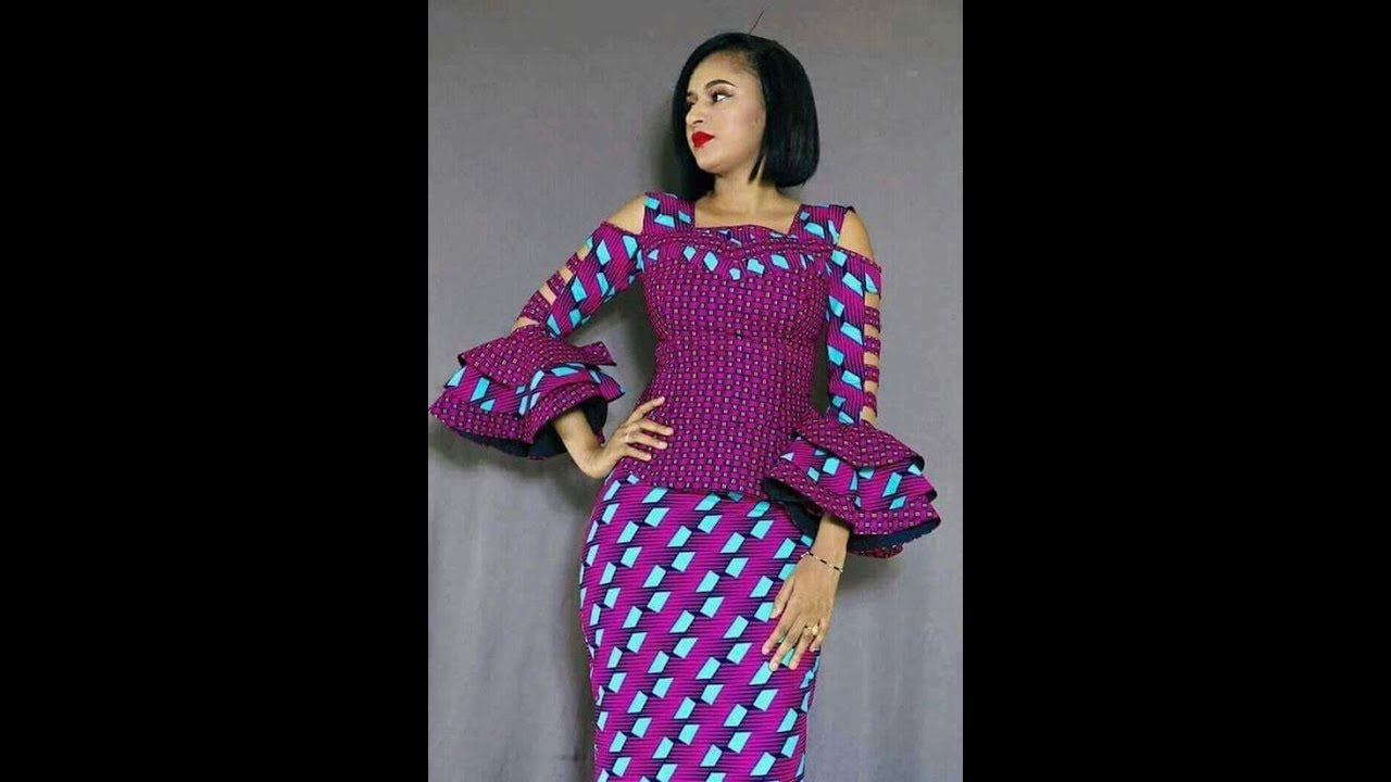 Latest #Ankara Skirt And Blouse Styles 2018: Hottest And ...