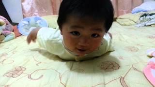 超級可愛會裝死的小嬰兒