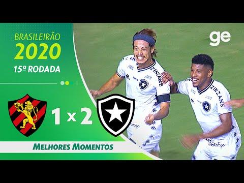 Sport 1 X 2 Botafogo Melhores Momentos 15ª Rodada Brasileirao 2020 Ge Globo Youtube