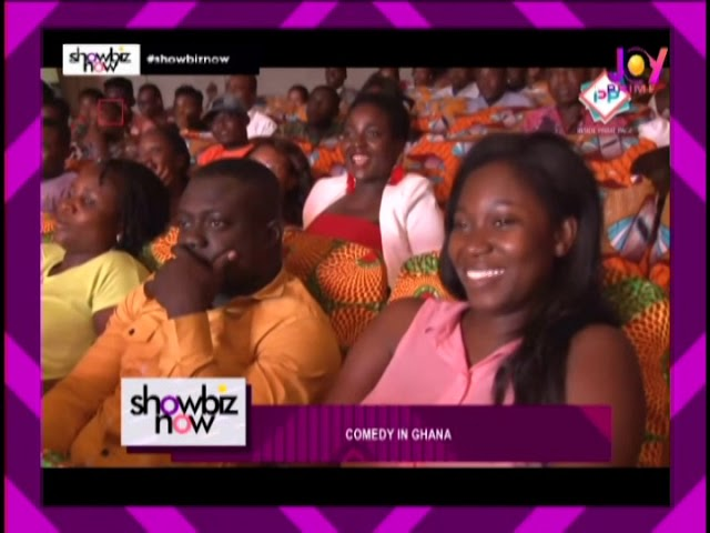 Comedy In Ghana - Showbiz Now on Joy Prime (26-9-18)