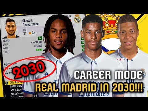 REAL MADRID IN 2030!!! - FIFA 17 Career Mode (Donnarumma, Rashford, Mbappe)
