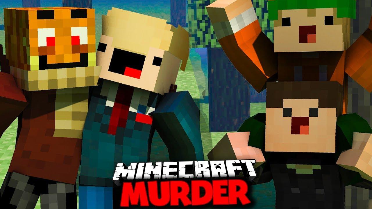 DIE GRÖßTE MURDER FAIL RUNDE DER WELT DONALD Minecraft MURDER - Minecraft murderer jetzt spielen