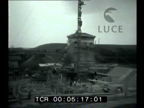 Visita di Mussolini al porto di Fiumicino