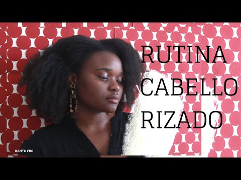 Rutina De Cabello Rizado + Productos Para Cabello Afro| BANTU FRO