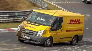 Nürburgring BEST OF Vans & Busses on the Nordschleife - Special Compilation!