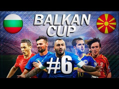 FIFA 18 - BALKAN CUP #6 - Bulgaria vs Macedonia - GROUP B