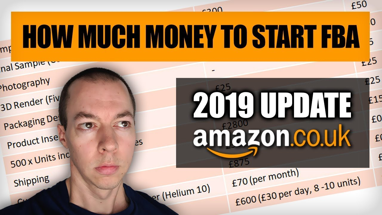 How Much Money Do You Need to Start Amazon FBA in 2019 ...