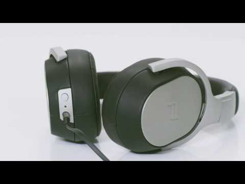 1c786b9d342 KEF Porsche Design Space One Noise Canceling Headphones - YouTube