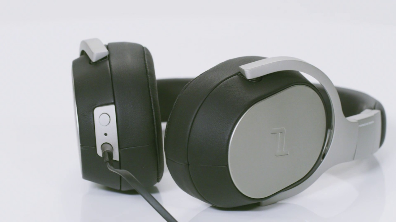 1c786b9d342 KEF Porsche Design Space One Noise Canceling Headphones - YouTube