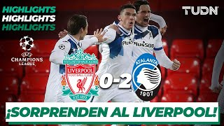 Highlights | Liverpool 0-2 Atalanta | Champions League 2020/21-J4