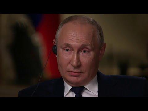 Владимир Путин дал интервью телеканалу NBC