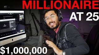 How I made my first $1 million dollars with coding at 25