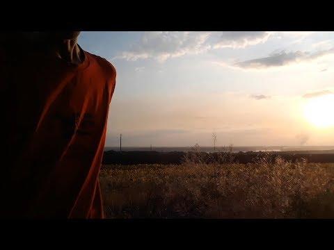 Агитация за PRIZM с кургана около Подпорожнянки, Запорожье