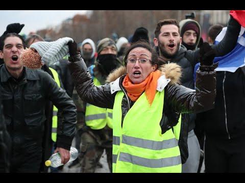 اعتقال نحو 500 متظاهر في وسط باريس  - 13:55-2018 / 12 / 8