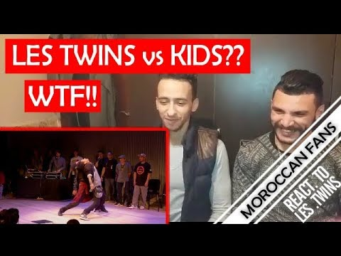 Arab React To | LES TWINS Vs ART OF TEKNIQUE - City Dance Live - Battle At SFJazz || MOROCCAN REACT