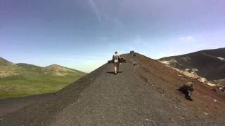 Cerro Negro Volcano Surfing - The Final Climb