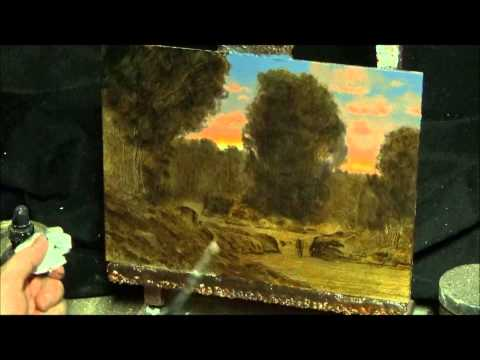 Painting in oils : how to art instruction in classical tonalist manner with art entertainment & fun