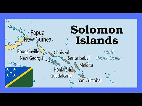 A  bus ride in the SOLOMON ISLANDS (New Georgia Island)