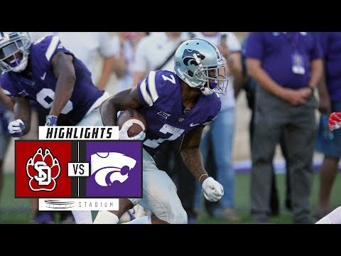 South Dakota vs Kansas State Football Highlights (2018) | Stadium