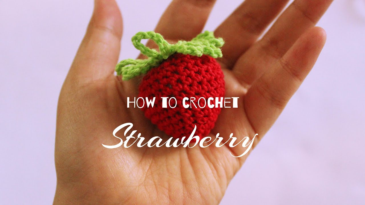 Crochet Amigurumi Strawberry - Large and Small Sizes | Bohemian Cat | 720x1280
