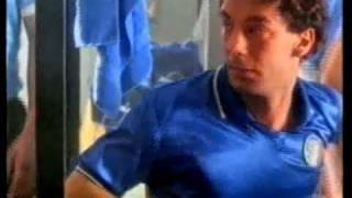 Mitico spot pubblicitario del concorso a premi della Ferrero® in occasione dei mondiali di ITALIA 90.