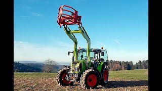 Claas Arion 460 im Test