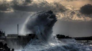 Ейск, шторм