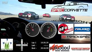 Here is a crazy four lap Spec Corvette Super Sprint race that turned into a drift competition at CVR