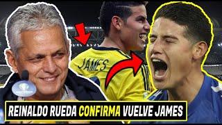 🚨BOMBAZO: Reinaldo Rueda CONFIRMA VUELVE JAMES Selección | POLEMICA ELIMINATORIAS | YERRY MINA NIVEL