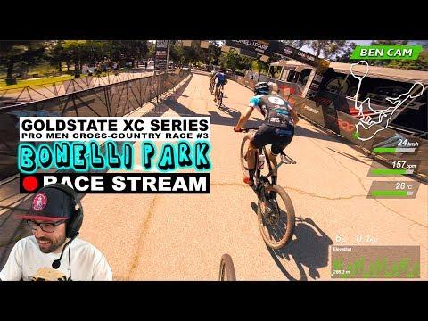 Race Stream: 2018 GoldState #3 Bonelli Park Pro XC Mountain Biking (Lap 1)