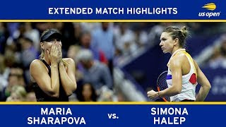 Maria Sharapova vs. Simona Halep | 2017 US Open, R1