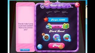 Candy Crush saga level 1577 WIN  HARD LEVEL