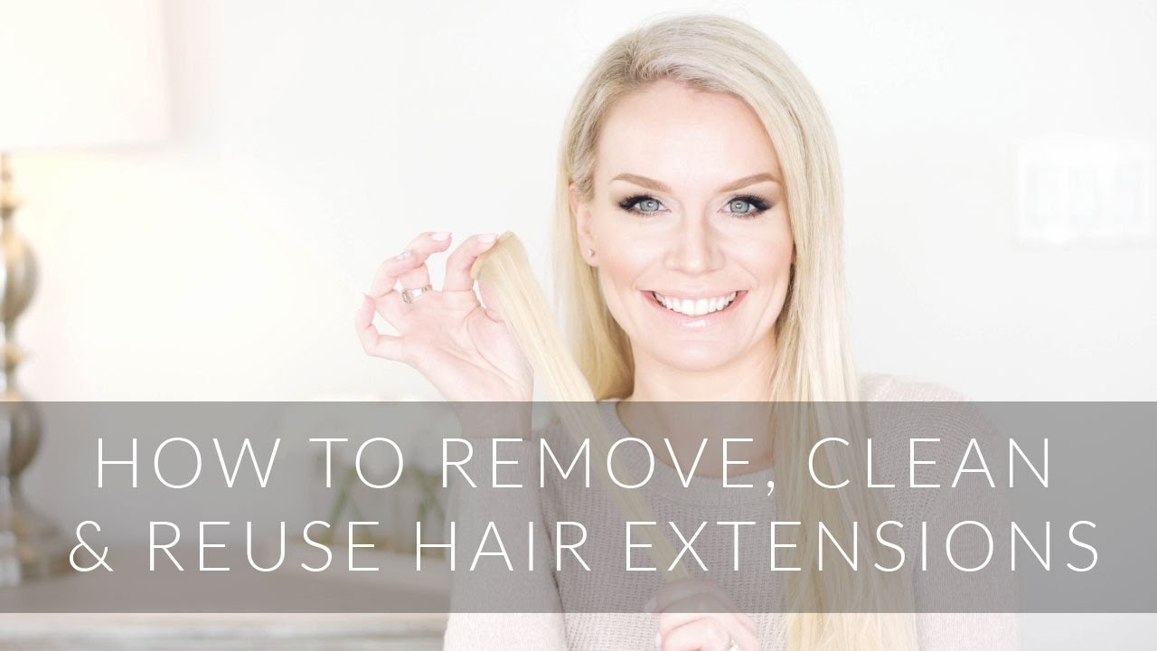 How to remove clean and reuse tape in hair extensions yourself how to remove clean and reuse tape in hair extensions yourself pmusecretfo Image collections