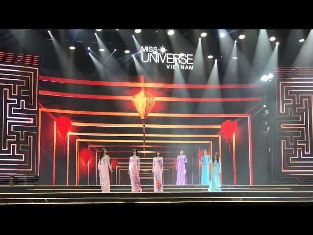 Hoa hậu hoàn vũ Việt Nam 2017 - Miss Universe Vietnam 2017 (phần thi áo dài)