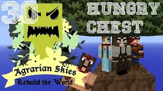 Minecraft: Agrarian Skies | Episode 030 | Not so Hungry Chest