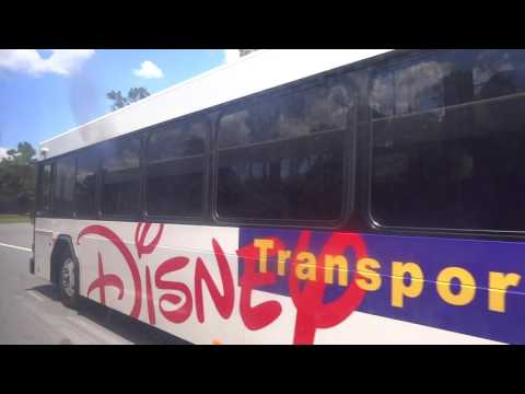 On-board Walt Disney World Transport Gillig - Typhoon Lagoon to Grand Floridian Resort and Spa