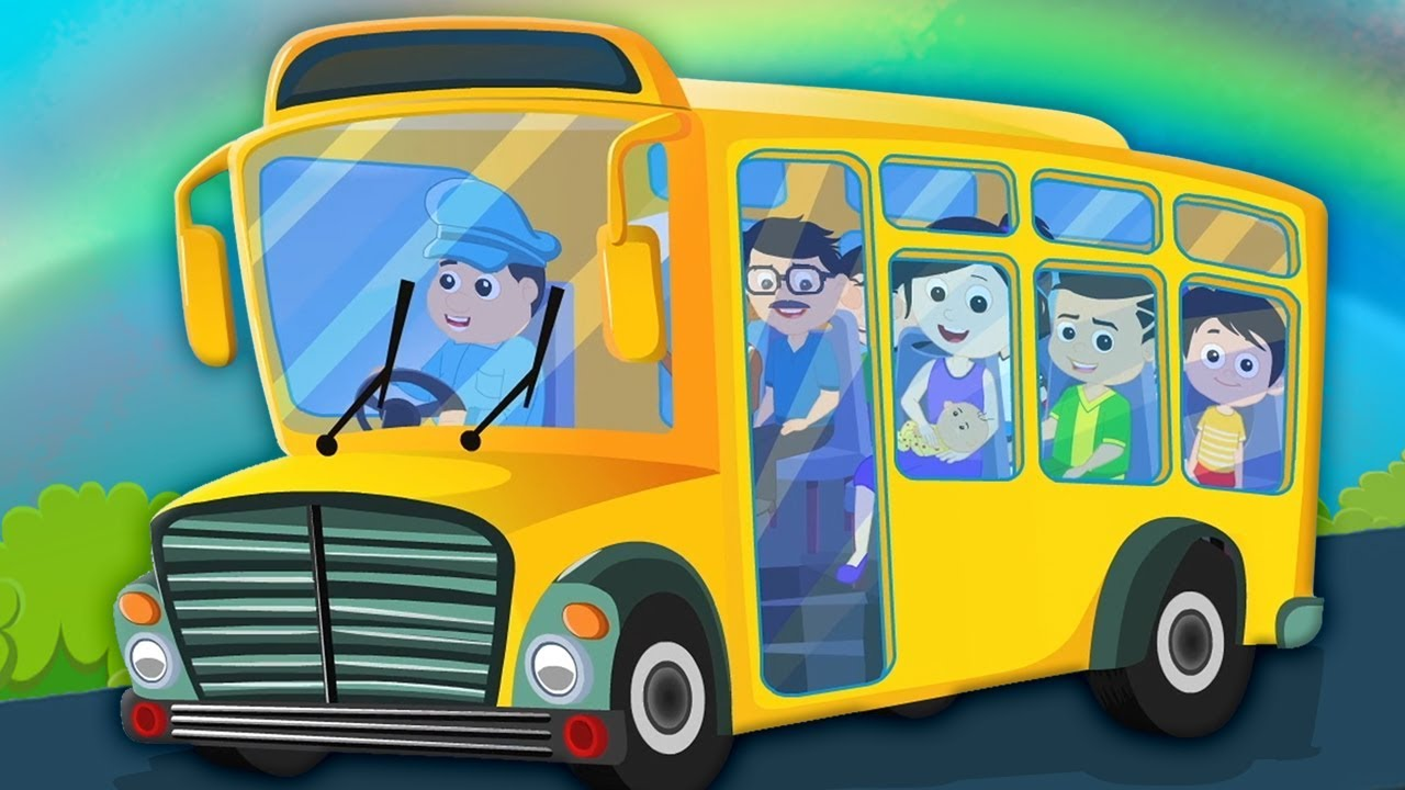 запорные картинки веселые автобусы на дороге пряная