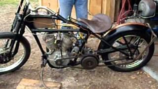 Harley JD JDH 1929 Bobber